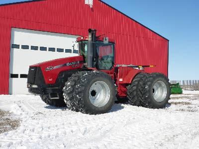 2009 CASE IH STEIGER 435 4WD Tractor