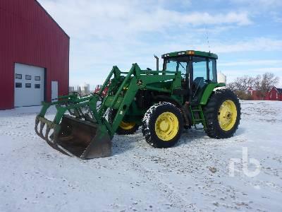 1997 JOHN DEERE 7210 MFWD Tractor