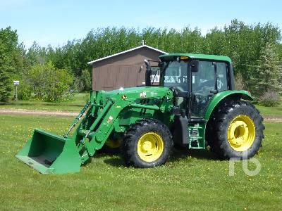 2013 JOHN DEERE 6125 M MFWD Tractor