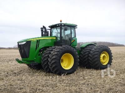 2012 JOHN DEERE 9460R 4WD Tractor