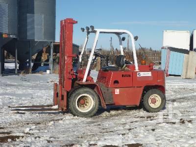 1971 CLARK C500-HY80 8000 Lb Forklift