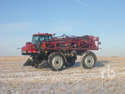 2011 CASE IH PATRIOT 3330 120 Ft High Clearance Sprayer
