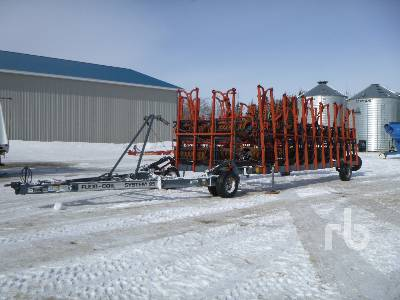 1996 FLEXI-COIL S95 70 Ft Double Coil Harrow Packer