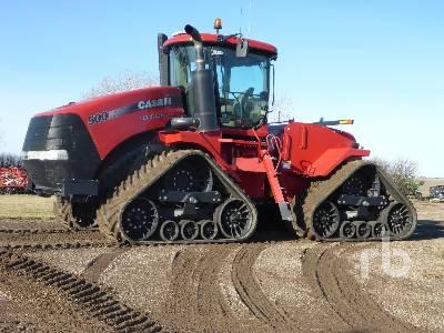 2011 CASE IH STEIGER 500 Quadtrac Track Tractor