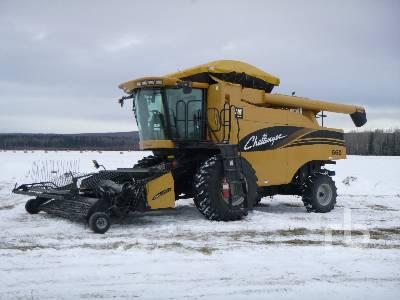 2003 CHALLENGER 660 Large Grain Combine