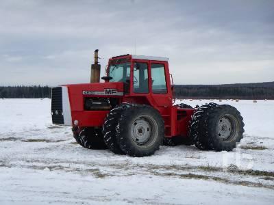 1979 MASSEY FERGUSON 4800 4WD Tractor