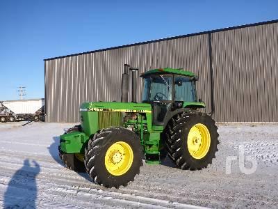 1987 JOHN DEERE 4450 MFWD Tractor