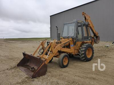 1975 CASE 580B Loader Backhoe