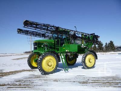 2001 JOHN DEERE 4710 100 Ft High Clearance Sprayer