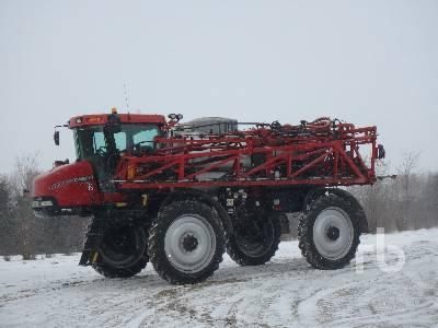 2010 CASE IH PATRIOT 4420 120 Ft Sprayer
