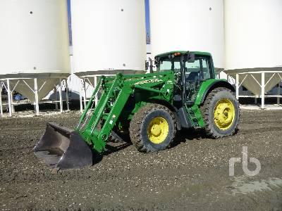 2004 JOHN DEERE 7420 MFWD Tractor
