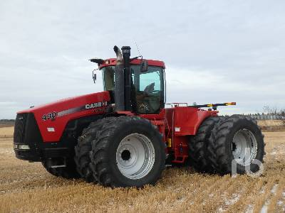 2007 CASE IH 430HD 4WD Tractor