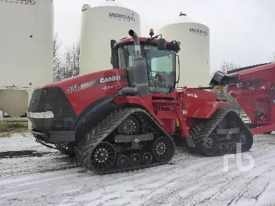 2014 CASE IH 450 Quadtrac Tractor Track Tractor