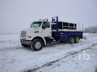 1999 STERLING Sprayer Nurse Truck T/A Flatbed Truck