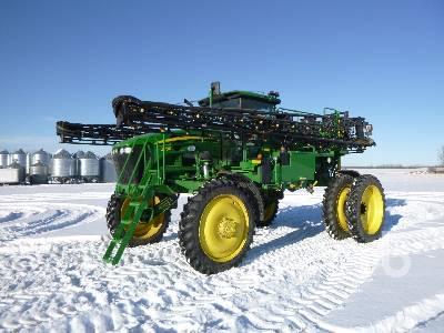 2013 JOHN DEERE 4730 100 Ft High Clearance Sprayer