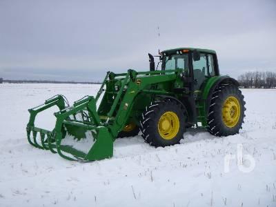 2014 JOHN DEERE 6150M MFWD Tractor