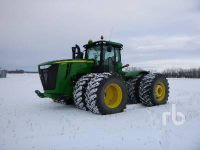 2014 JOHN DEERE 9510R 4WD Tractor