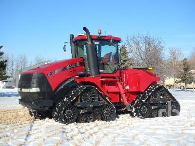 2014 CASE IH 600 Quadtrac Track Tractor