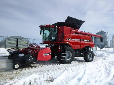 2012 CASE IH 9120 RWA Combine