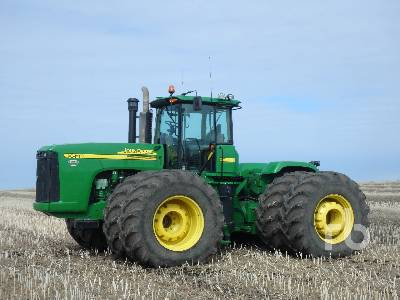 2007 JOHN DEERE 9620 4WD Tractor