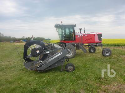 2012 HESSTON 9740 36 Ft Swather