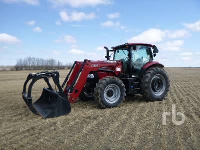 2012 CASE IH MAXXUM 125 MFWD Tractor
