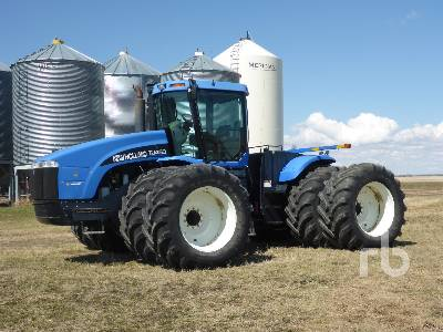 2002 NEW HOLLAND TJ450 4WD Tractor