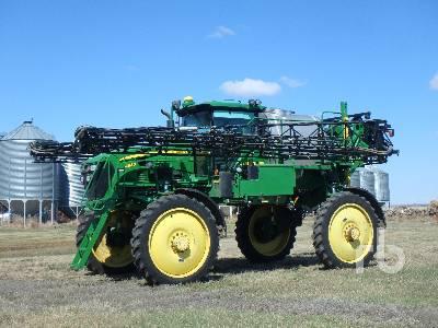 2012 JOHN DEERE 4830 100 Ft High Clearance Sprayer