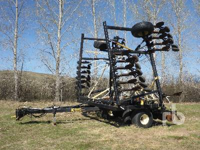 K-HART 40 Ft Double Disc Seed Drill