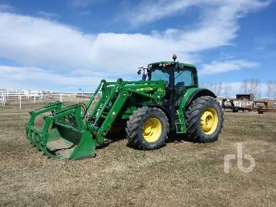 2010 JOHN DEERE 7530 MFWD Tractor
