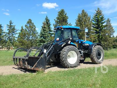 2007 NEW HOLLAND TV145 Bi-Directional Tractor