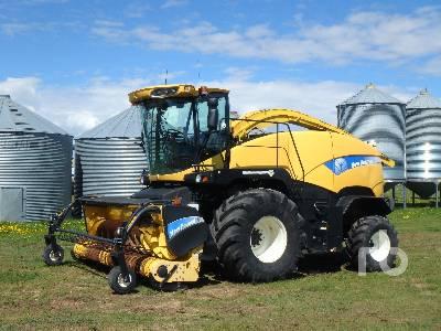 2008 NEW HOLLAND FR9080 Forage Harvester