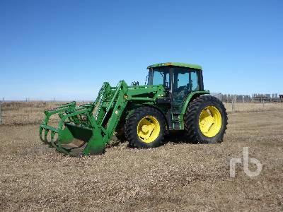 1995 JOHN DEERE 6400 MFWD Tractor