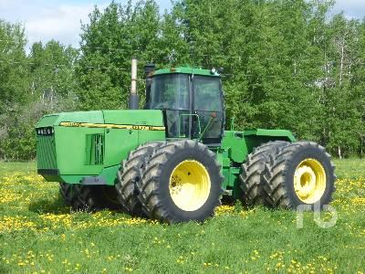 1996 JOHN DEERE 8870 4WD Tractor