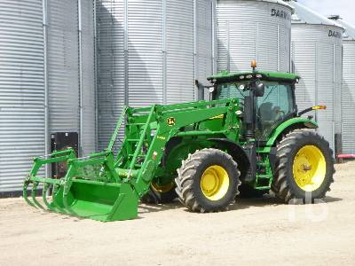 2011 JOHN DEERE 7230R MFWD Tractor