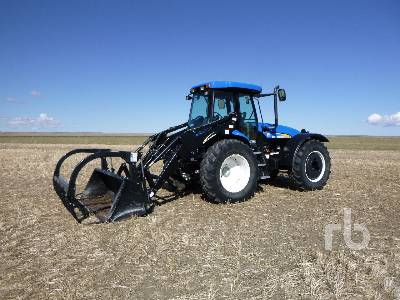 2014 NEW HOLLAND TV6070 4x4 Bi-Directional Tractor
