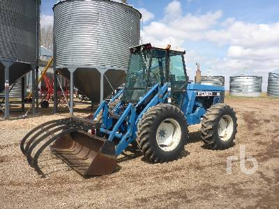 1989 FORD 276 Bi-Directional Tractor
