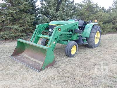 1996 JOHN DEERE 6200 2WD Tractor