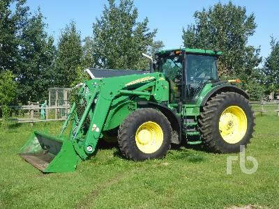 2007 JOHN DEERE 7630 MFWD Tractor