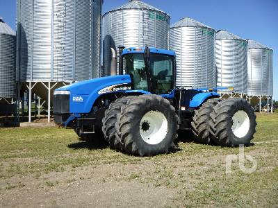 2005 NEW HOLLAND TJ500 4WD Tractor