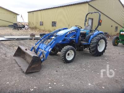 NEW HOLLAND TC40DA MFWD Utility Tractor