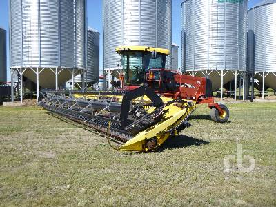 2007 NEW HOLLAND HW325 36 Ft Swather