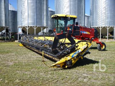 2008 NEW HOLLAND H8060 36 Ft Swather
