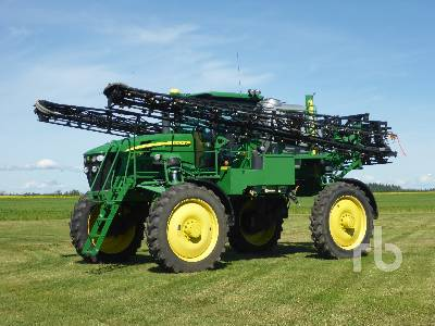 2007 JOHN DEERE 4830 110 Ft High Clearance Sprayer