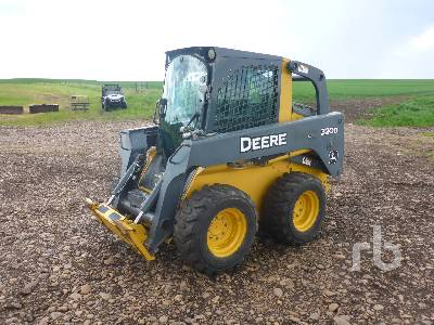 2010 JOHN DEERE 320D Skid Steer Loader