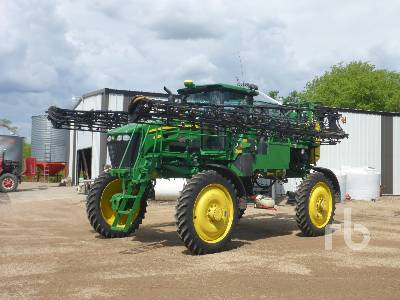 2008 JOHN DEERE 4730 100 Ft High Clearance Sprayer