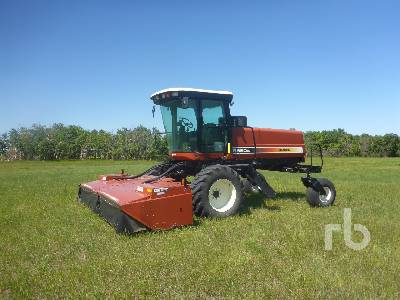 HESSTON 8550S 15 Ft Disc Self-Propelled Mower Conditioner