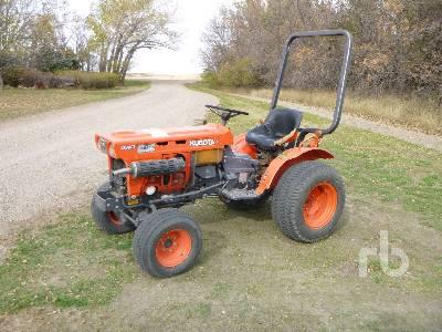 1980 KUBOTA B7100HSD 4WD Utility Tractor