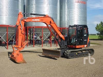 2014 KUBOTA KX080-4 Midi Excavator (5 - 9.9 Tons)