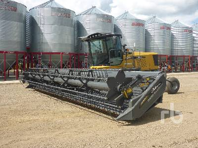 2018 CHALLENGER WR9960 35 Ft Swather